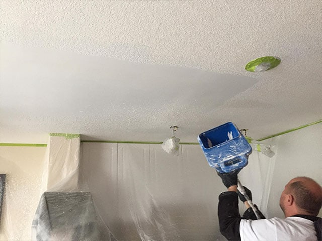 compare popcorn homeandgarden paint costs average of painting ceiling top much cost how does removal